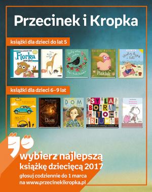 ktore-z-tych-ksiazek-zwycieza-w-konkursie-na-najlepsza-ksiazke-dziecieca-przecinek-i-kropka-2017
