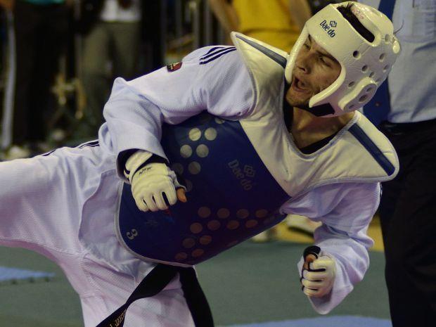 Łoniewski zainteresował się taekwondo dzięki filmom z Van Dammem w roli głównej (fot. Bartłomiej Koloczek)