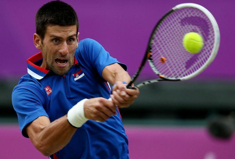 Novak Djokovic będzie musiał zadowolić się walką o brąz, w półfinale przegrał z Brytyjczykiem Andym Murrayem (fot. Getty Images)