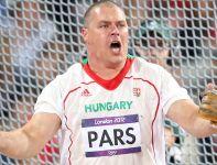 Węgier Krisztian Pars jako jedyny umieścił młot poza granicą 80 metrów i dzięki temu zdobył złoto (fot. Getty Images)