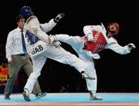 Włoch Carlo Molfetta (P) został mistrzem olimpijskim w kategorii powyżej 80 kg (fot. Getty Images)
