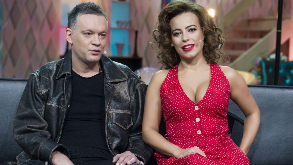 Aktorka walczyła o zwycięstwo w parze z Krzysztofem Antkowiakiem (fot. J. Bogacz/TVP)