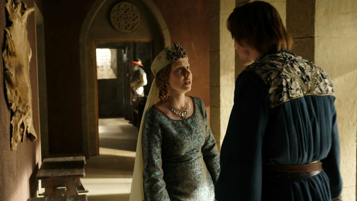 Szczęśliwie dla księżnej, sprawa wyjaśnia się i dziecko zostaje na dworze (fot. TVP)