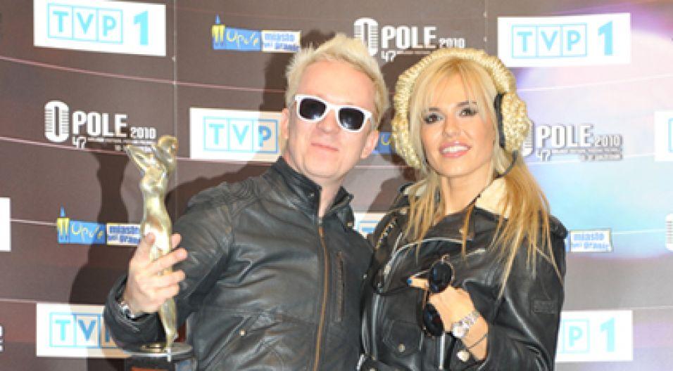 Wspólnie pozowali do zdjęć (fot. Jan Bogacz/TVP)