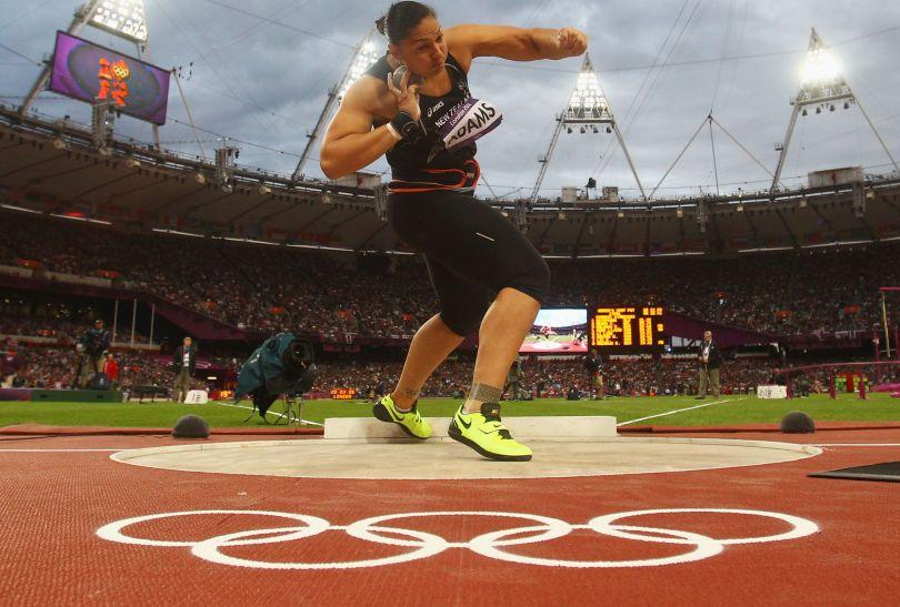 Valerie Adams z Nowej Zelandii zdobyła srebrny medal w konkursie pchnięcia kulą (fot. Getty Images)