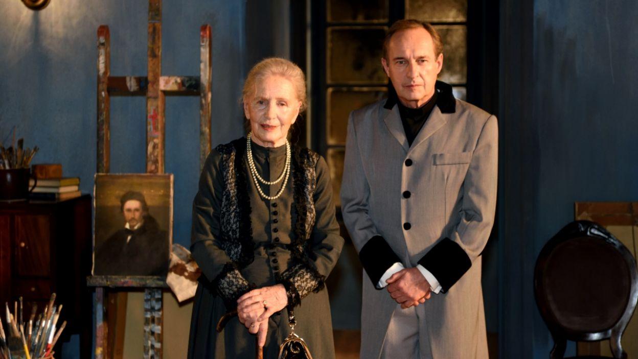 Występują również Anna Milewska jako Starsza Pani oraz Marek Kalita – Teolog (fot. Agata Ciołek)