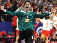 Niklas Landin szaleje z radości (fot. PAP/EPA)