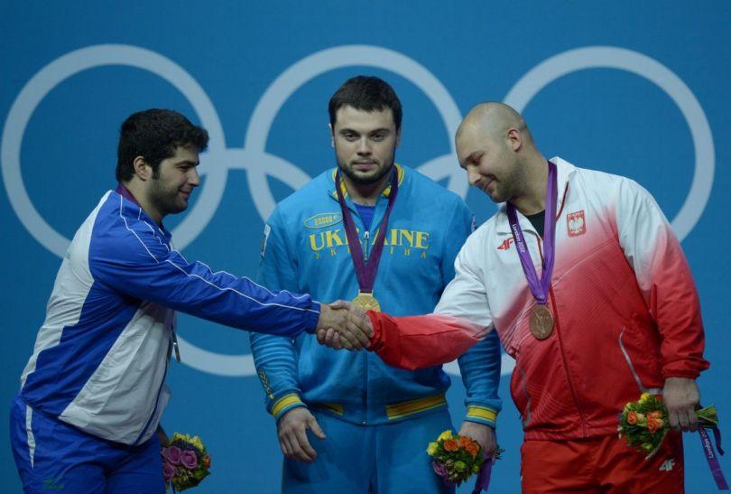 Gratulacje od rywali dla Polaka (fot.PAP/EPA)