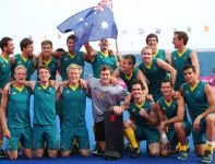 Australijscy hokeiści sięgnęli po brązowe medale (fot.PAP)