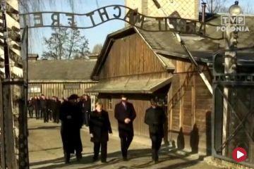 Angela Merkel odwiedziła Auschwitz