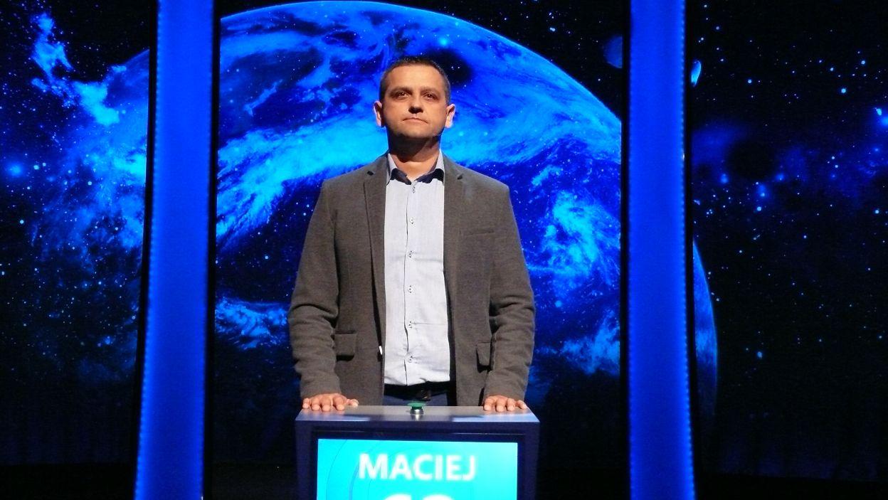 Pan Maciej Nowak pokonał rywali i zwyciężył 10 odcinek 109 edycji