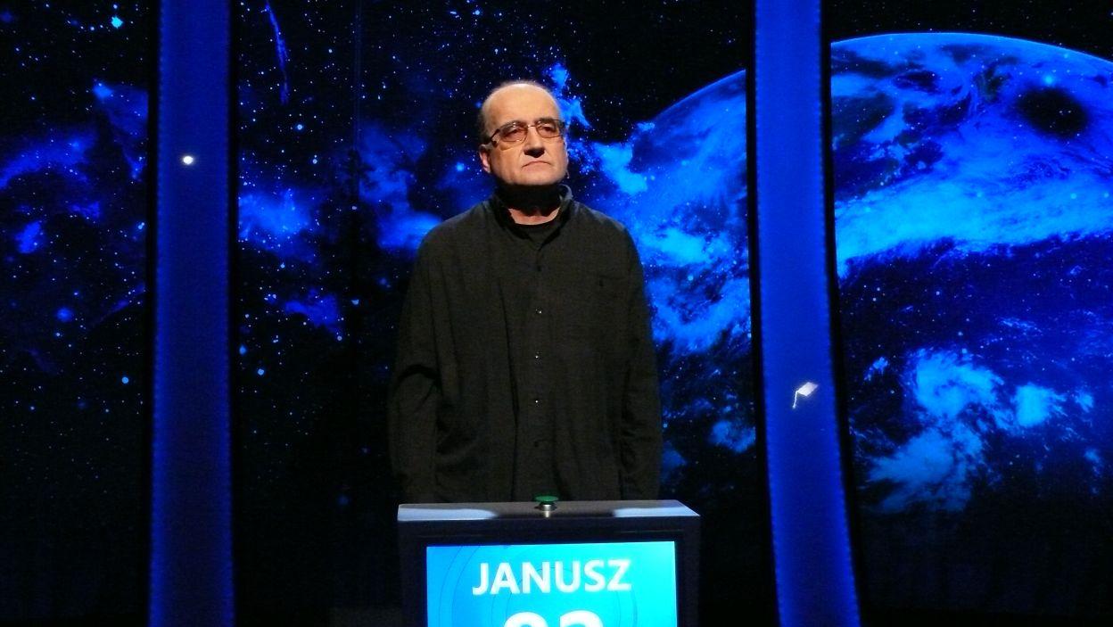 Janusz Majda - zwycięzca 18 odcinka 103 edycji