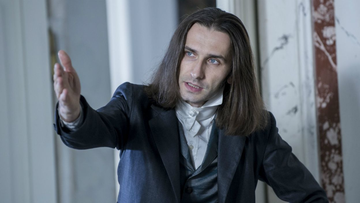 Paweł Smagała zagrał kompozytora Franciszka Liszta (fot. Natasza Młudzik/TVP)