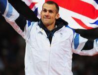 W skoku wzwyż przyznano aż trzy brązowe medale, jeden z nich zdobył Robert Grabarz z Wielkiej Brytanii (fot. Getty Images)