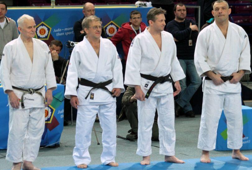 Legendy polskiego judo przeprowadziły