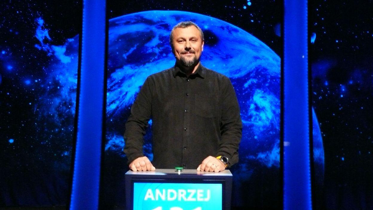 Andrzej Wnęk - zwycięzca 3 odcinka 104 edycji