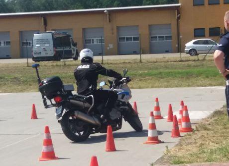 """Konkurs """"Policjant ruchu drogowego"""" w Gliwicach"""