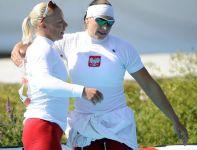 Beata Mikołajczyk i Karolina Naja zdobyły brązowy medal w rywalizacji K2 na 500 metrów (fot. Getty Images)
