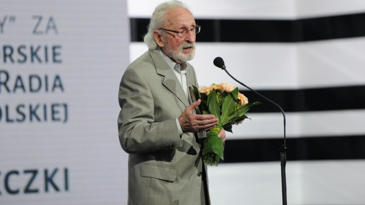 Wielką Nagrodę za kreacje męskie otrzymał  Franciszek Pieczka (fot. N. Młudzik/TVP)
