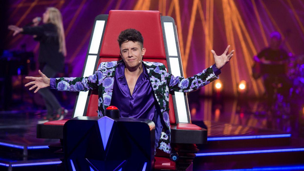 Dawid Kwiatkowski poczuł flow, ale czy odwrócił swój fotel? (fot. J. Bogacz/TVP)