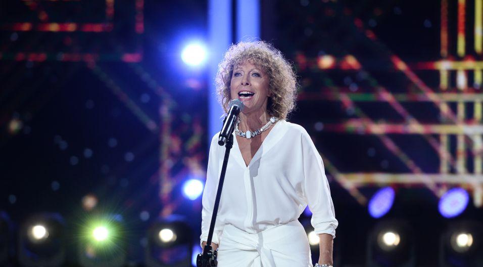 Zakończeniem koncertu, był recital Alicji Majewskiej. Niekwestionowana gwiazda zaskoczyła widzów swoim premierowych utworem! (fot. J. Bogacz/TVP)