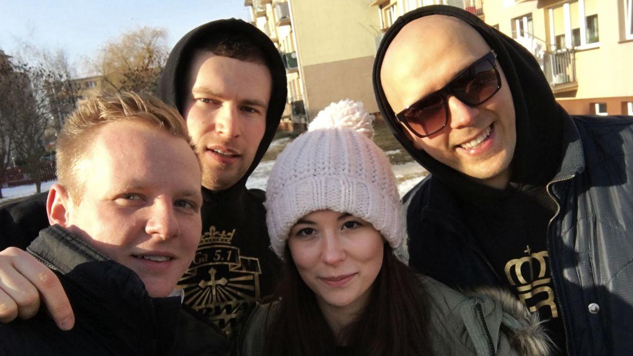 Selfie z planu, fot. tvp