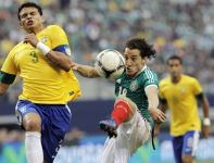 Z lewej Thiago Silva (fot. Getty Images)