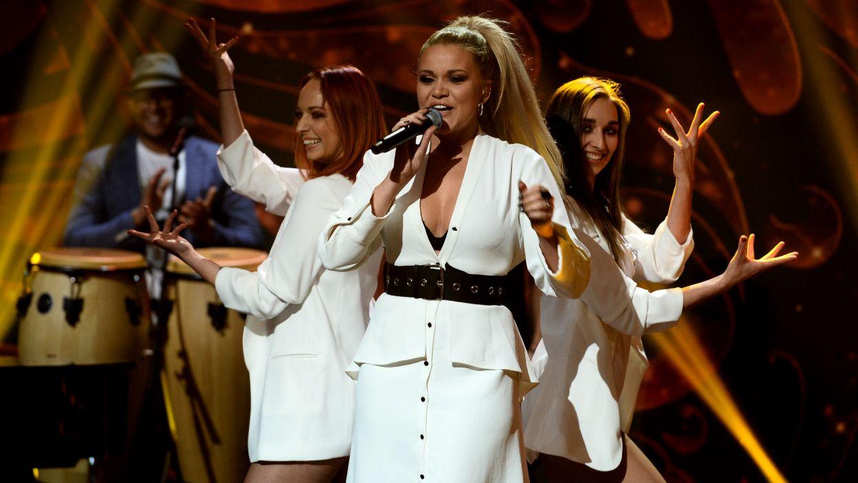Zmagania w preselekcjach zostały uświetnione przez zespół Blue Cafe, który reprezentował Polskę  podczas finału Eurowizji w 2004 roku (fot. Jan Bogacz/TVP)
