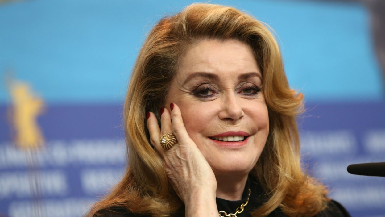 Catherine Deneuve (fot. EPA/ADAM BERRY)