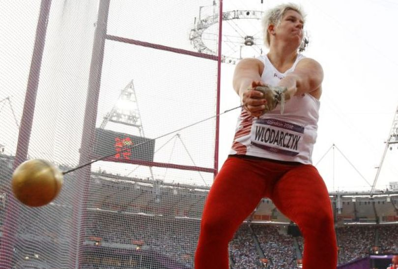 Anita Włodarczyk wywalczyła srebro w konkursie rzutu młotem! (fot. PAP)