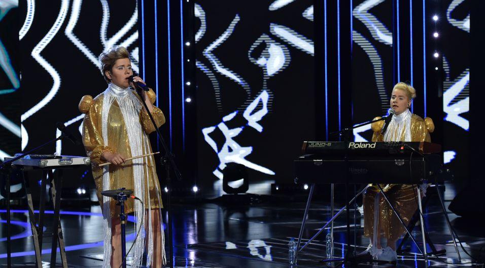 Barwne siostry Wrońskie – czyli Ballady i Romanse – otworzyły pierwszy w historii Opola koncert muzyki alternatywnej (fot. i. Sobieszczuk/TVP)