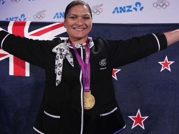 Valerie Adams otrzymała złoto po dyskwalifikacji Nadieżdy Ostapczuk (fot. Getty Images)