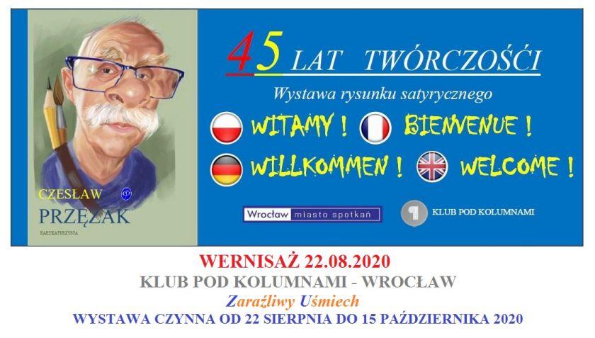 Czesław Przęzak - wystawa z okazji  45-lecia twórczości