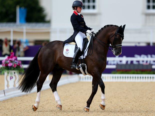 Charlotte Dujardin zdobyła złoto na koniu Valegro (fot. Getty Images)