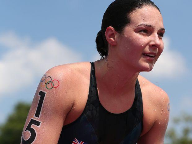 Keri–Anne Payne za miesiąc ma poślubić pływaka Davida Carry'ego (fot. Getty Images)