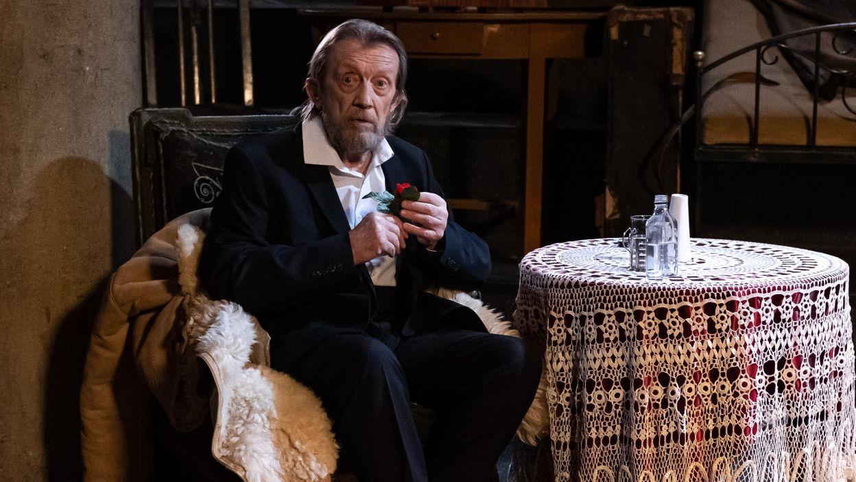 Rolę Oyermaha zagrał Edward Linde-Lubaszenko (fot. Sylwia Penc)