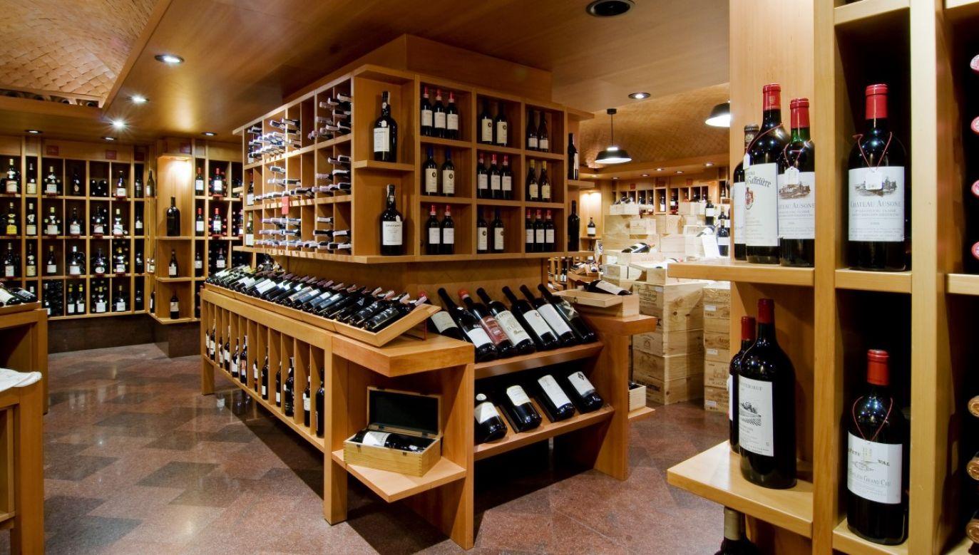 Rodzinna winnica z miejscowości Santa Maria della Versa w Lombardii nie spodziewała się takiego sukcesu swojej aukcji online (zdjęcie ilustracyjne)(fot. Federico Magi/Mondadori via Getty Images)