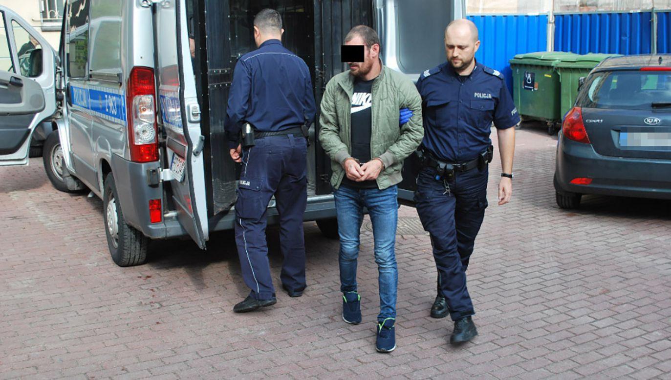 Grozi mu kara do 5 lat więzienia (fot. KRP I)