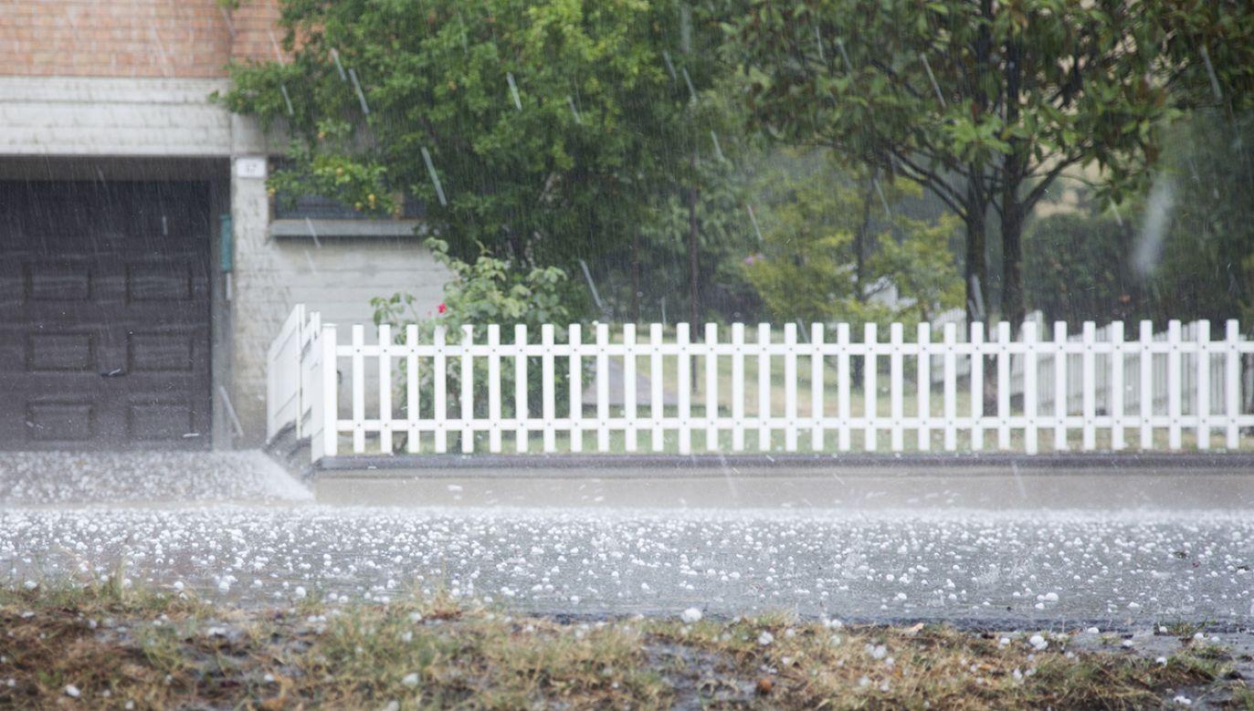 W trzech mogą pojawić się burze z gradem (fot. Shutterstock/TinoFotografie)