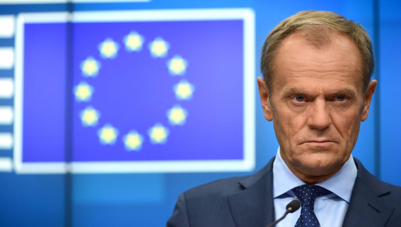 Donald Tusk znalazł się w ogniu krytyki gdy na jaw wyszly wydatki Rady Europejskiej m.in.: na szampana czy na fotel relaksacyjny(fot. Pier Marco Tacca/Getty Images)