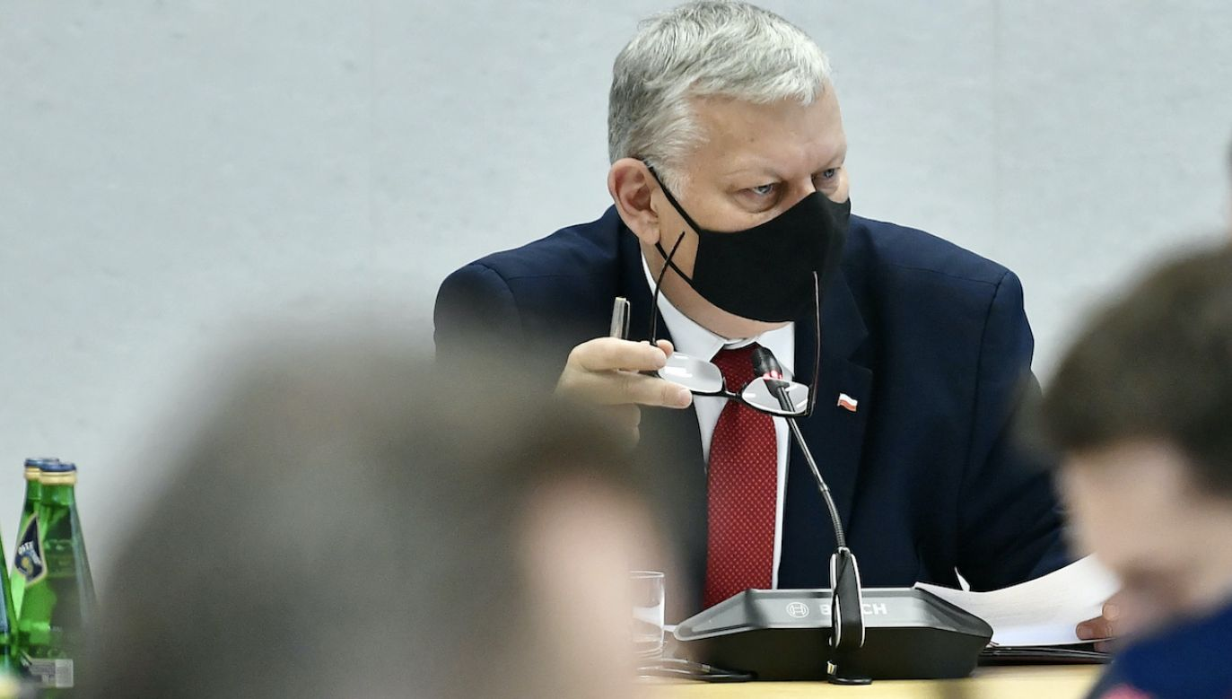 Marek Suski (fot. PAP/M.Obara)