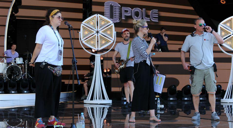 Była wokalistka zespołu Pustki do Opola przywiozła także własny materiał (fot. N. Młudzik/TVP)