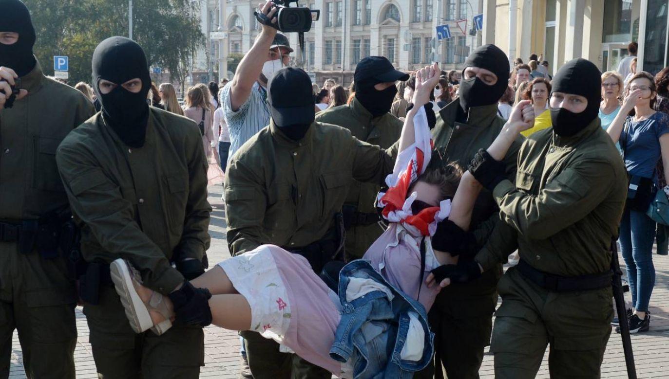 Demonstracje nie ustają (fot.PAP/EPA/STR)