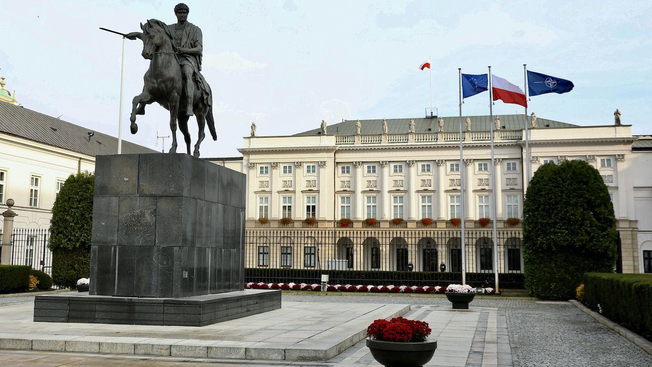 """""""Kancelaria Prezydenta RP nie bagatelizuje tego wydarzenia"""" (fot. arch.PAP/Rafał Guz)"""