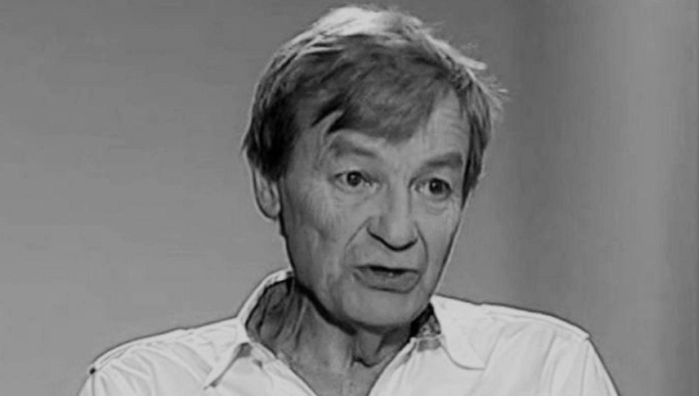 Mariusz Puchalski występował na scenach poznańskich teatrów (fot.TVP)