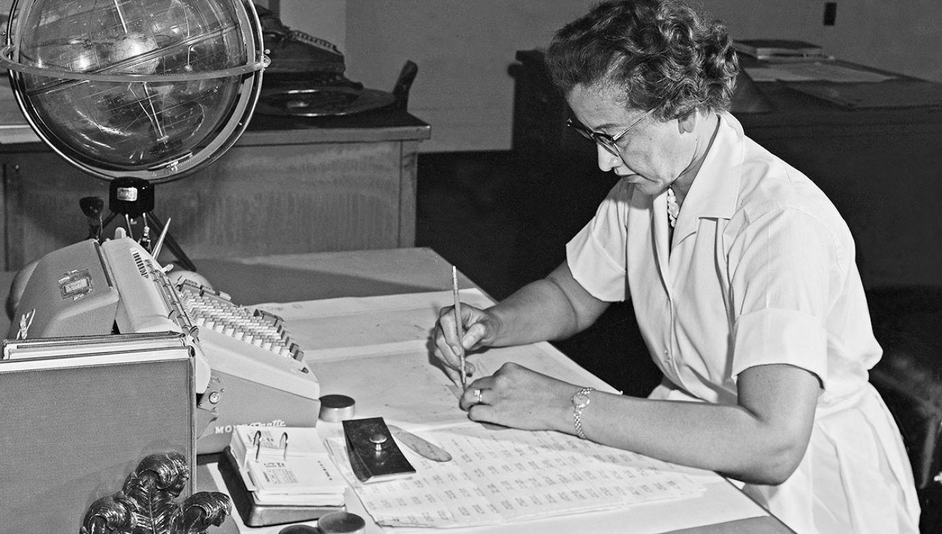 Matematyczka Katherine Johnson (fot. PAP/EPA/NASA LANGLEY)