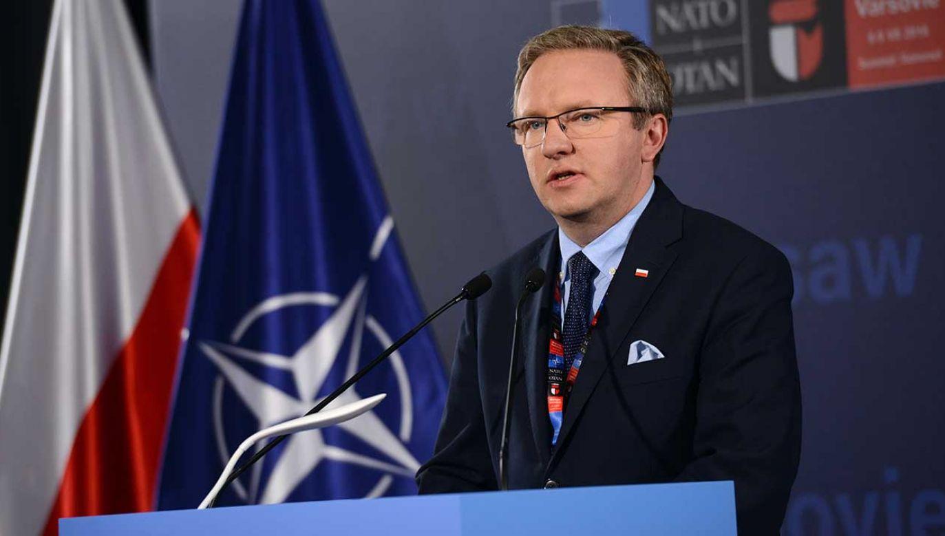 Polska lobbuje, aby szef gabinetu prezydenta Krzysztof Szczerski został zastępcą sekretarza generalnego NATO (fot. arch. PAP/Jacek Turczyk)