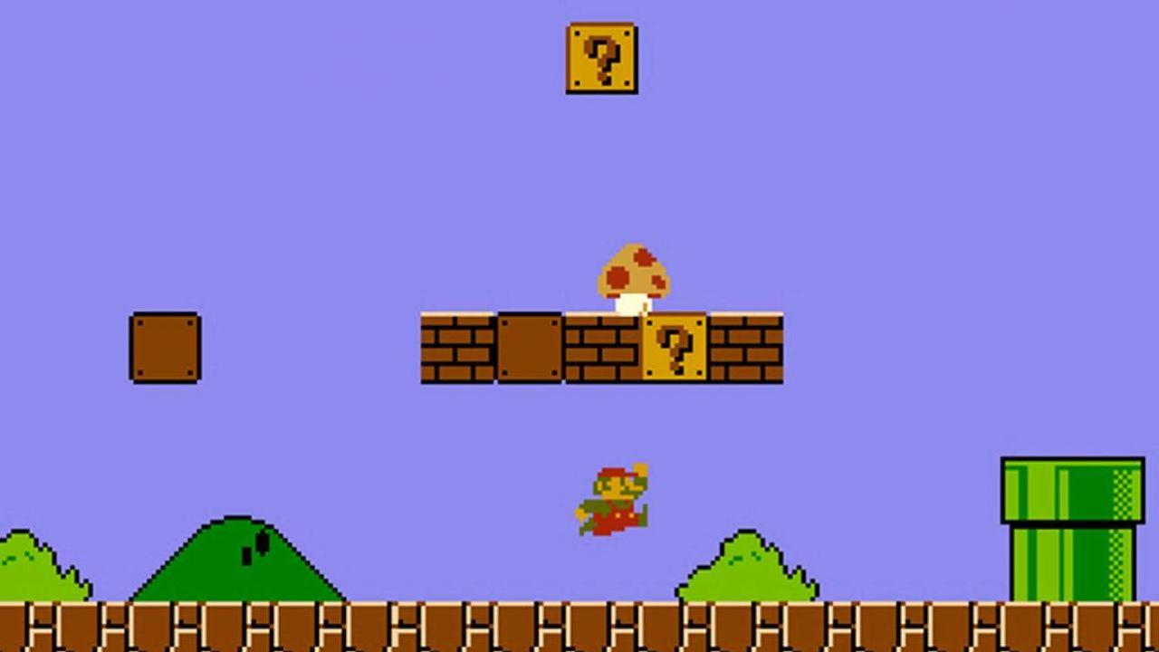 """""""Super Mario Bros."""" to jedna z najsłynniejszych gier w historii (fot. mat.pras./Nintendo)"""