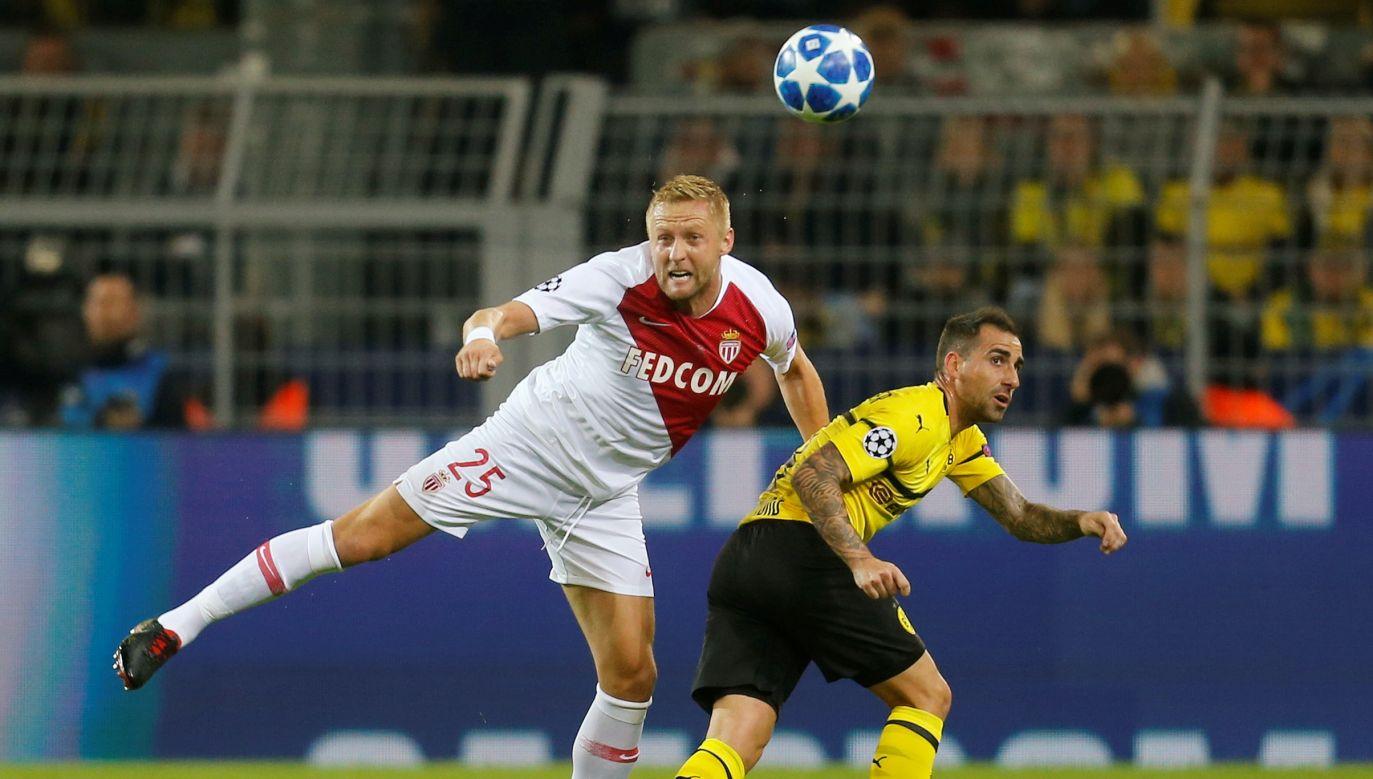 Kamil Glik w barwach Monaco zaliczył grę w Lidze Mistrzów (fot. Leon Kuegeler)