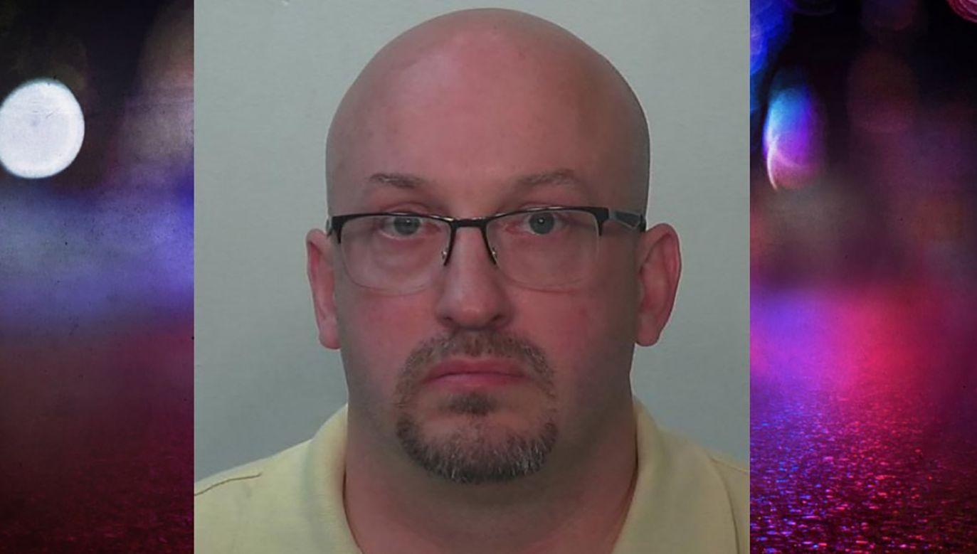 Ojczym molestował swoje adoptowane córki przez cztery lata (fot. Allen County Sheriff's Office))